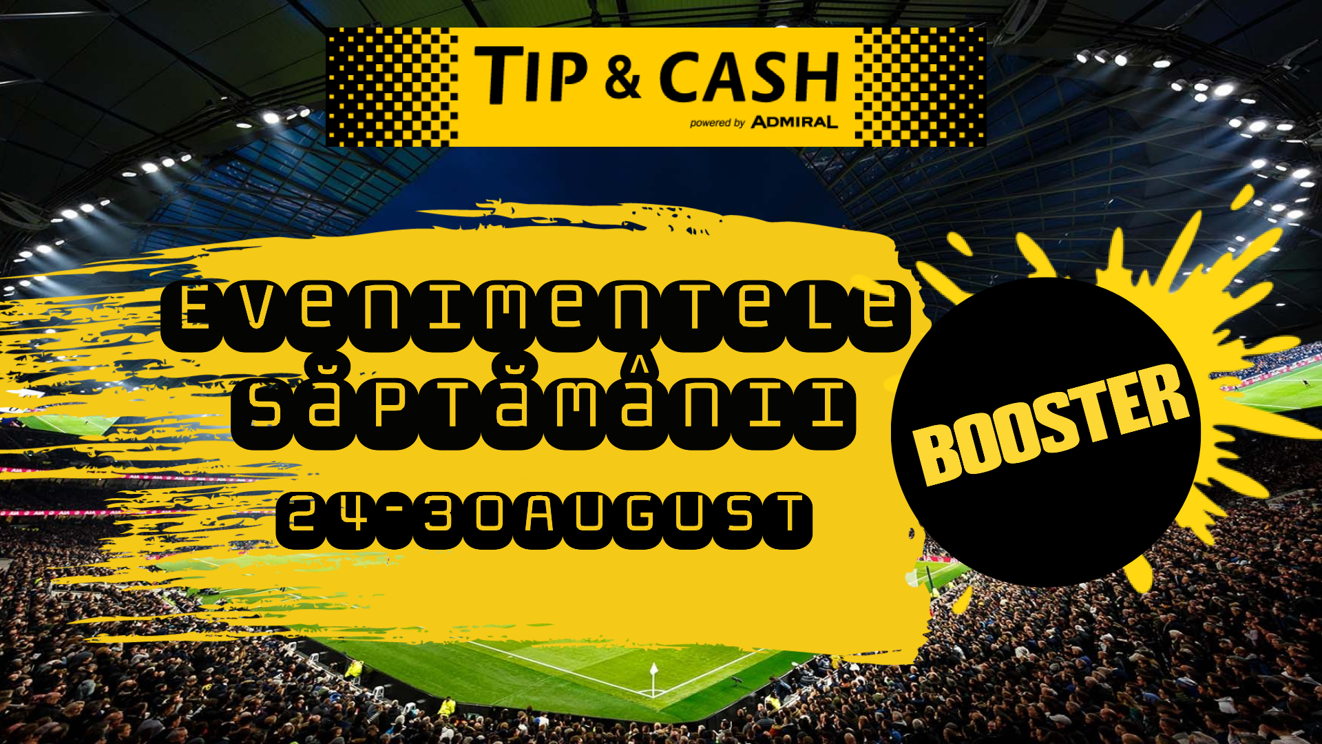 BOOSTER optiune TIP&CASH