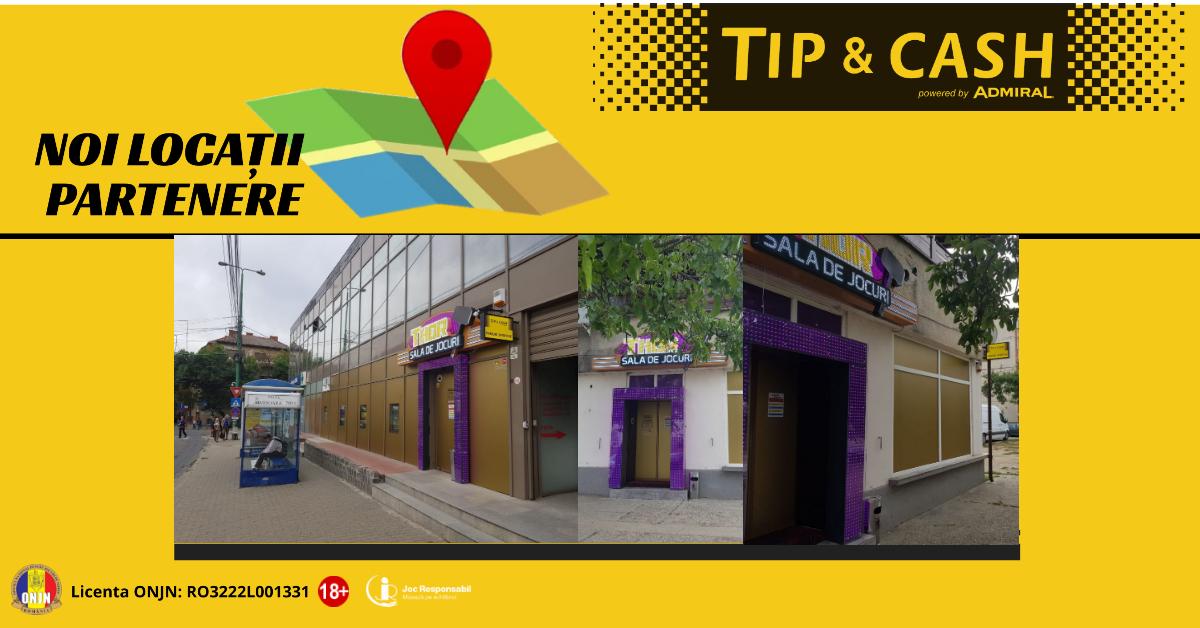 Locatii partenere TIP&CASH